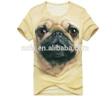 3dพิเศษเสื้อยืดผ้าฝ้าย100%พิมพ์เสื้อยืดดิจิตอสัตว์3d