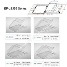 EP-JZJ55 Clam Shell Box Clear plastic Box