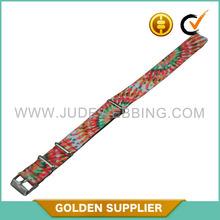 adjustable customized nylon 26mm watch strap