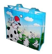 non toxic material cute nonwoven bag for shopping