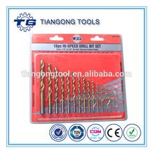16pcs HI-Speed Drill Bit Set best buys tiangong tools