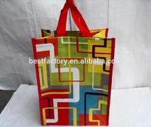 hi-tech fancy laminational non woven shopping bag