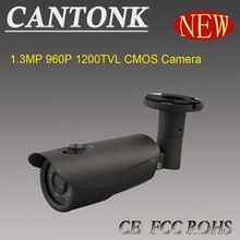 2015 High image quality low price CMOS 1.3MP 960P 1200TVL nightvision 40M ir bullet camera