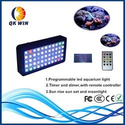 Creative Programmable coral reef used full spectrum led aquarium lighting for marine use