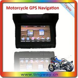 """Wholesale Price 5 inch Waterproof Motorcycle Bluetooth GPS/ 5"""" IP57 mini motorcycle gps navigation"""