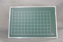 Rectangular green blackboard / mathematics / school teaching equipment