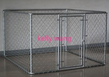 outdoor hot sale galvanized steel dog kennel and runs