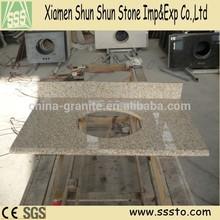 Chinese G682 Granite Stone Kitchen Countertop/Table Top/Vanity Top