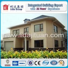Classics design economical light resident steel villa