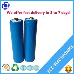 3.7 volt 1800mah rechargeable li-ion battery