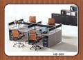 Moderno mobiliario de oficina 4 - asiento de estación de trabajo de oficina HB-869