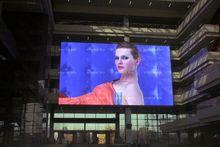 Energy saving 3D LED display led time display outdoor portable display board for basketball full color HD LED display
