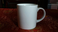 400cc super white coffee mug