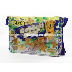 cream filled biscuit/food/snack packaging bag/food service bag