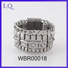 Fashione magnetic bracelet wholesale alloy bracelet charms
