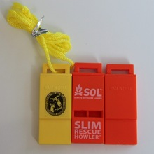 emergency plastic whistle with ABS material
