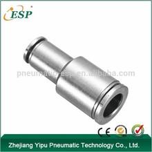 Accesorios para tubos neumáticos directamente a través del todo el cobre níquel acoplamientos rápidos serie PG
