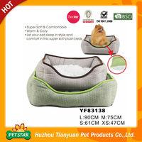 Polyester Mixed Cotton Cloth Bean Bag Dog Bed