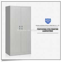 Steel bedroom wardrobe, metal 2 door locker, office cloths cabinet