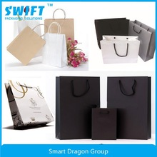 High Quality Customized Logo Printing Cloth Paper Shopping Packaging Bag