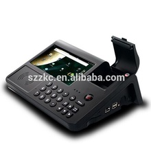 Provide free SDK API,all in one touch screen mobile pos terminal with receipt printer