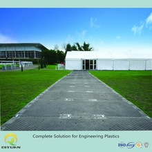 ground protection and temporary flooring road mats