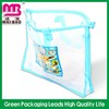 for promotion colored zipper pvc cosmetic bags with handle