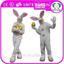 2015 HI EN71 easter bunny costume for infant & adult men