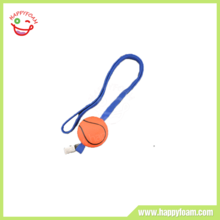 Soft Basketball stress ball with lanyard promotional items