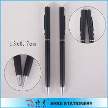 twist action black hotel pen