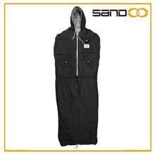 Sandoo new product 2015 china supplier comfortable warming wearable sleeping bag