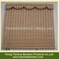 largura do slat de bambu cortinas