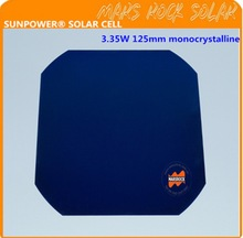 Sunpower Maxeon Flexible Solar Cell, High Efficiency 3.35W,125mm 5inch Monocrystalline, FREE SHIPPING!