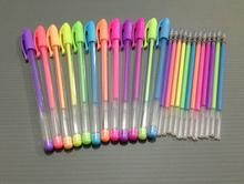 Natural fruit scented plastic gel ink pen