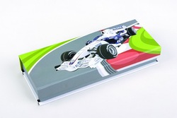 Full-color printing and folding paper pen box