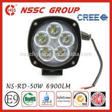 6500K IP68 50 watt dust proof led lights waterproof and dust proof aluminum casting 50w light led work light