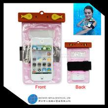 Universal Zip Lock Colorful PVC Waterproof Phone Dry Bag For Mobile Phone