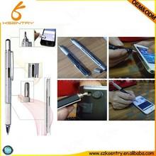 multifunction tool touch screen pen stylus, ballpen, ruler, leveler, screw driver