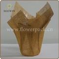 hot vender papel chinês decorativos vasos de plantas de interior