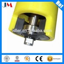 3 Roll Trough Roller for Belt Conveyor,Industrial Nylon Roller