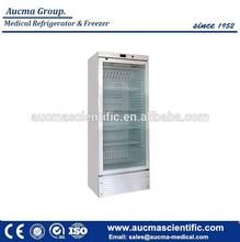 CE certificate 2-8 degree Medical Refrigerator 330 Liter