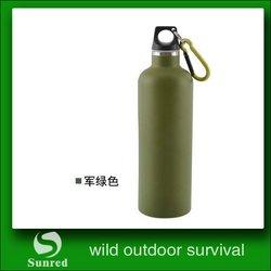 hot-sale Environmental black color water bottle