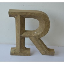 Wooden letters for craft made in wooden Home Decoration