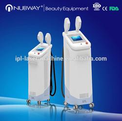 Two handles mutifunctional ipl rf laser shr equipment