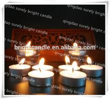 Candele e chiesa candela/tè a lume di candela