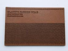 China Manufuturer Creative Designed Leather Label For Clothing Label For Handbags Label For Jeans