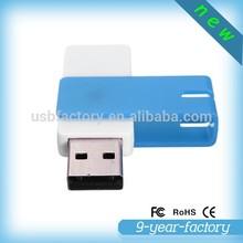 Plastic swivel light USB pendrive 64gb