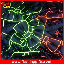 new product 2015 el lighting ties for party show kids birthday party decorations