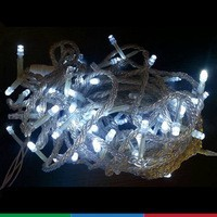 Christmas decoration led Warm White C6 Flame Frost Vintage LED string lights