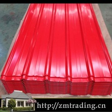 colors coated galvanized sheet metal roofing